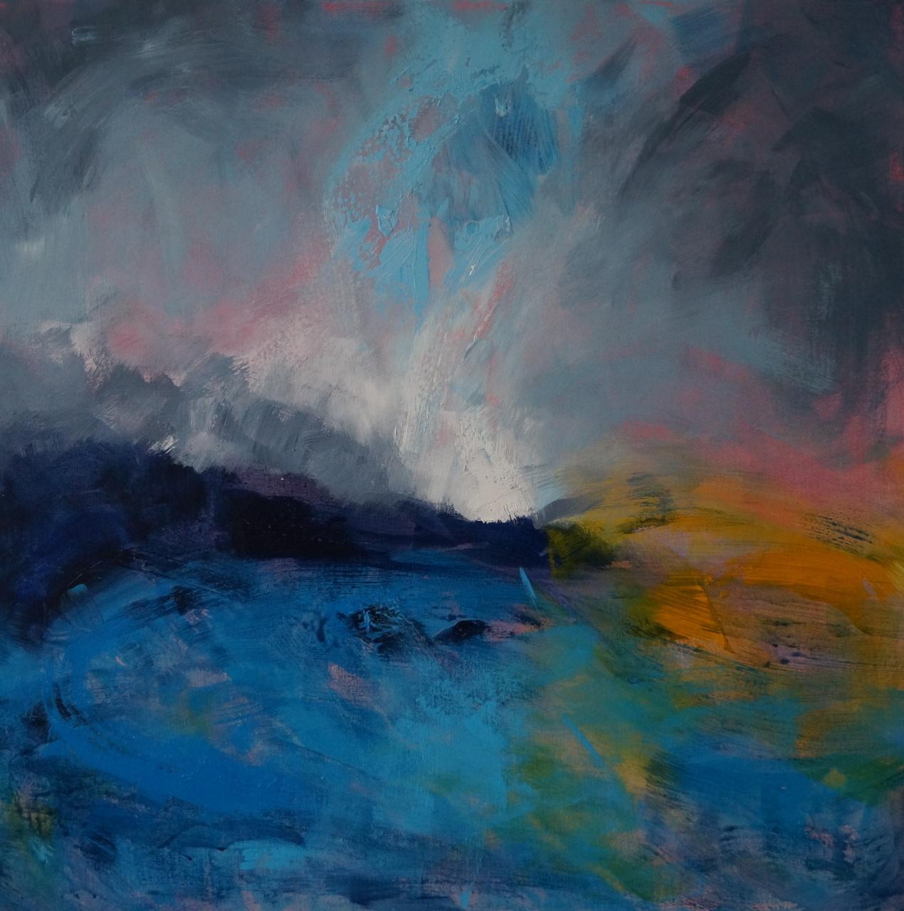 9 Turquoise Coast 79 x 79cm